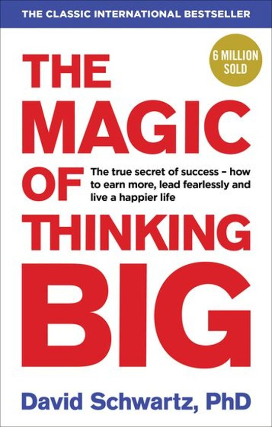 Bestel het boek The Magic of Thinking Big via Bol.com